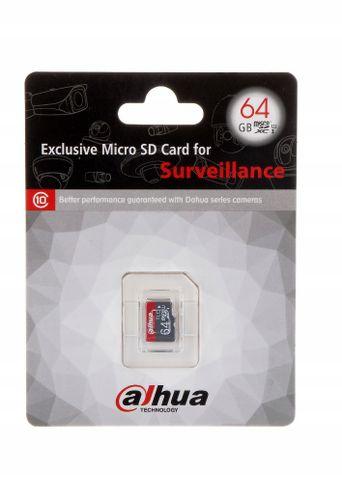 Karta pamięci microSD 64 GB monitoring Dahua 90/mb na Arena.pl