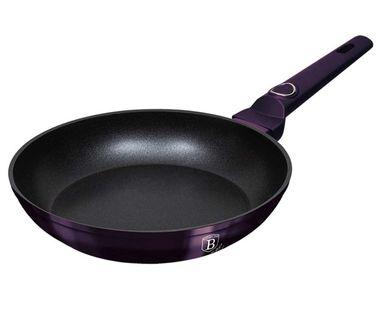 Lumarko Patelnia tytanowa berlinger haus 24cm bh-6625 purple