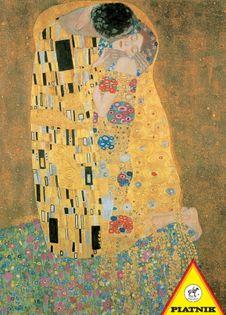 Puzzle 1000 Klimt Pocałunek