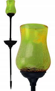 Lampa solarna Kielich zielony