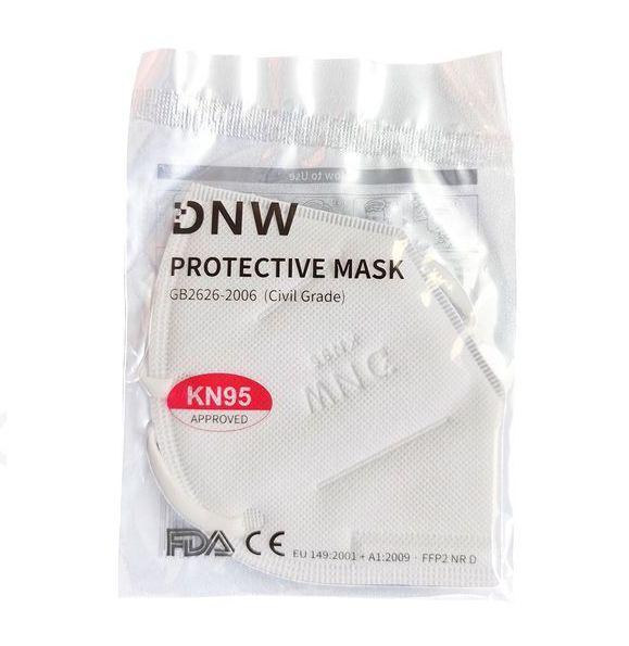 Maska ochronna filtrująca DNW FFP2 NR D N95 KN95 zdjęcie 2