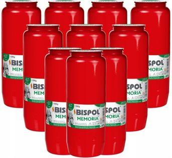 Wkłady do zniczy olejowe BISPOL WO11C 144H 10szt.