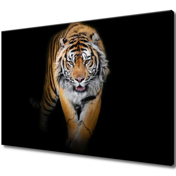 Obraz Na Ścianę 120X80 Tygrys Tygrys Zwierzę zdjęcie 1