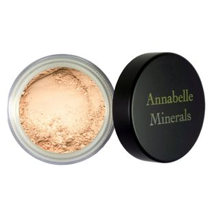 Podkład Mineralny Beige Dark 4g - Annabelle Minerals - Rozświetlający