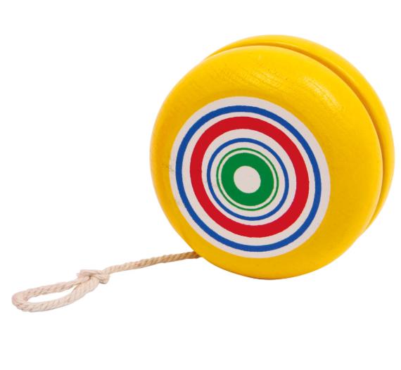 Jojo dla dzieci - żółte lub czerwone, 1szt. zabawka montessori zdjęcie 1