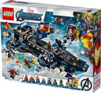 Klocki LEGO Avengers Lotniskowiec 76153