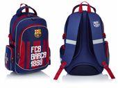 Plecak szkolny tornister BARCELONA FC-172 + GRATIS