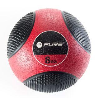 Pure2Improve Piłka lekarska, 8 kg, czerwona