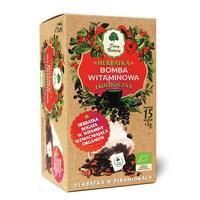 Herbatka BOMBA WITAMINOWA EKO - piramidki 15x3g