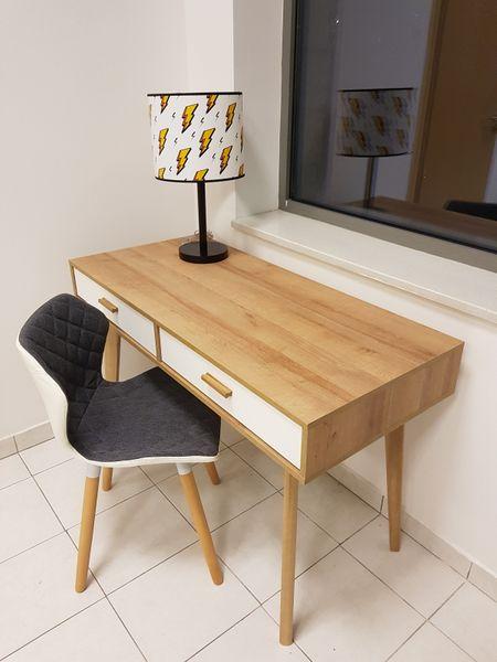 Skandynawskie biurko z szufladami Nordic zdjęcie 6