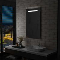 Ścienne lustro łazienkowe z LED, 60 x 100 cm