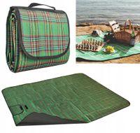 Duża wodoodporna MATA piknikowa Koc plażowy Piknik