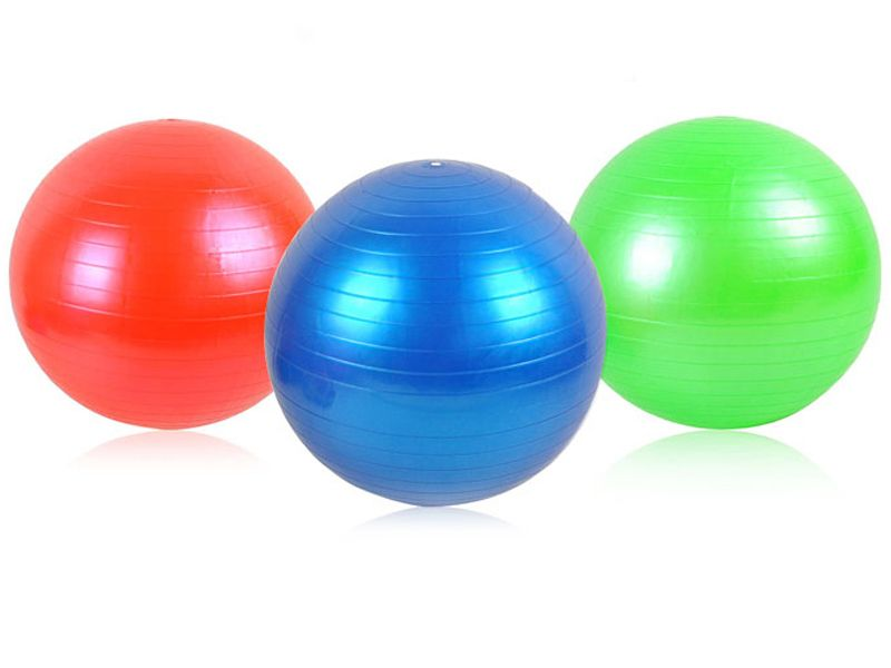 Piłka Gimnastyczna Rehabilitacyjna Fitness 75cm 419 zdjęcie 2