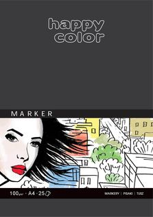 Blok do markerów Happy Color 25A 100g A4