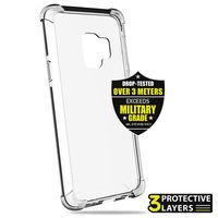 PURO Impact Pro Hard Shield - Etui ochronne Samsung Galaxy S9 (czarny)