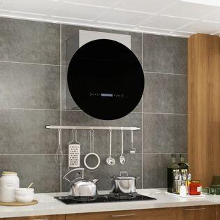 Lumarko Okap kuchenny z dotykowym wyświetlaczem LCD i LED, 756 m³/h