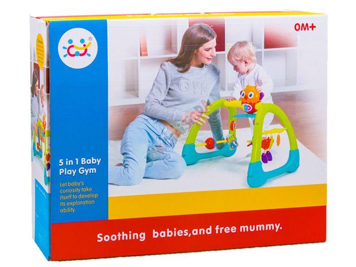 Kolorowy Interaktywny STOJAK 5w1 Dla Dzieci 0+ zdjęcie 4