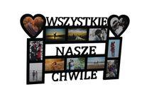 Multirama ramka na zdjęcia z napisem Wszystkie Nasze Chwile