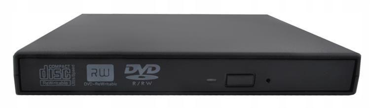 Napęd zewnętrzny CD/DVD Nagrywarka COMBO SLIM USB zdjęcie 3