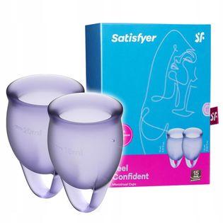 Kubeczek menstruacyjny Satisfyer. 2 sztuki.