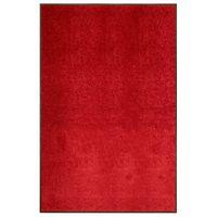 Wycieraczka z możliwością prania czerwona 120x180cm VidaXL