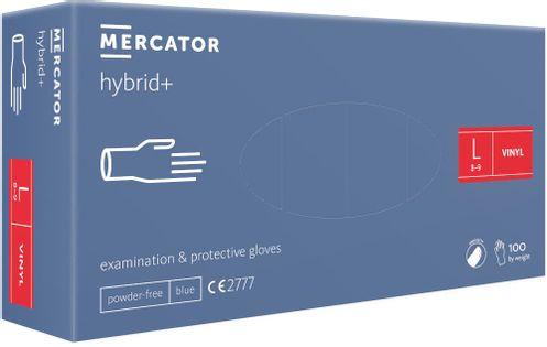Rękawice syntetyczne MERCATOR hybrid+ L 100 szt