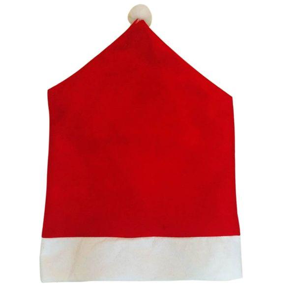 4 x POKROWCE NA KRZESŁA czapka mikołaja święta zdjęcie 6