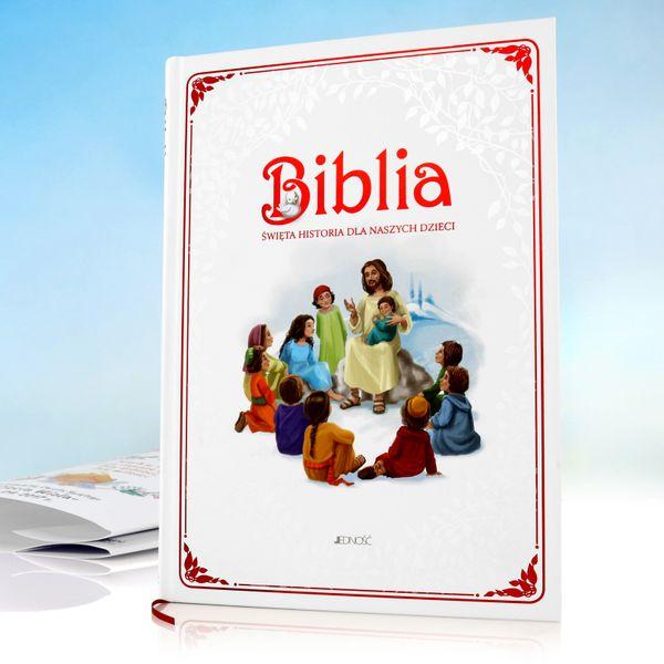 Biblia Święta Historia dla dzieci Chrzest GRAWER zdjęcie 4
