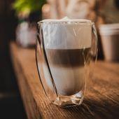 SZKLANKI do napojów kawy z PODWÓJNĄ ŚCIANKĄ 300ml