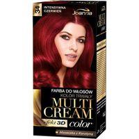 Joanna Multi Cream Color Farba Do Włosów 34 Intensywna Czerwień