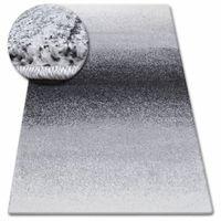 Dywan SHADOW 8621 black / white 60x100 cm
