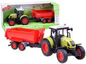Traktor + przyczepa maszyny rolnicze ZA2436
