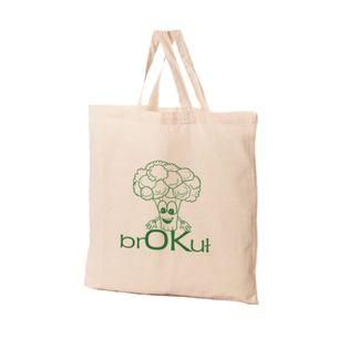 Torba Bawełniana Ekologiczna Brokuł