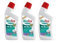 Żel do WC Biofos Professional 500 ml x 3 sztuki