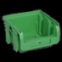 Pojemnik magazynowy, warsztatowy nr 1 - 100x102x60 mm. Zielony.