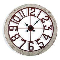 Zegar Ścienny Metal (4,5 x 70 x 70 cm)