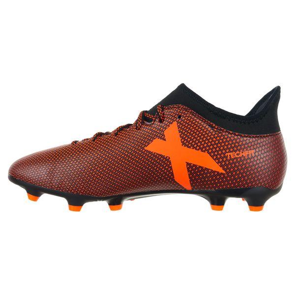72b4cb87 Buty piłkarskie Adidas X 17.3 FG TechFit męskie korki lanki 45 1/3 zdjęcie 4