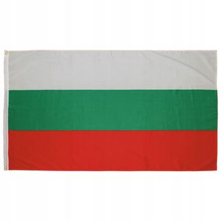 Flaga na maszt 90 x 150 cm Bułgaria