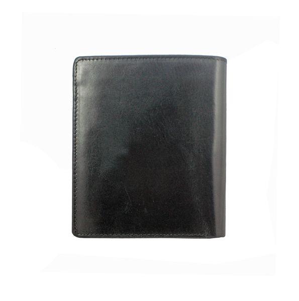 Skórzany portfel męski Peterson, RFID, czarny zdjęcie 2