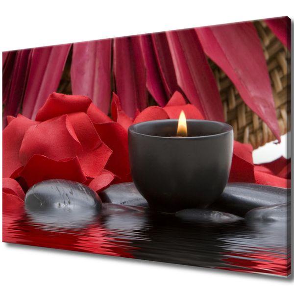 Obraz Na Ścianę 120X80 Świecznik Spa Świecznik Sp zdjęcie 1