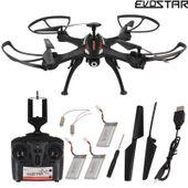 DRON EVOSTAR Explorer RQ77-14W z Kamerą WiFi 6Axis 3Aku Czarny Z25C zdjęcie 2