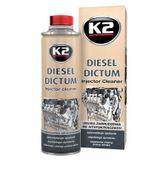 K2 DIESEL DICTUM 500ml Środek do czyszczenia wtryskiwaczy