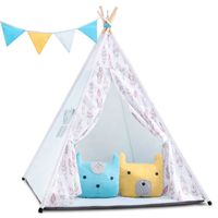 Estella Tipi namiot dziecięcy - girlanda, poduszki, stabilizator