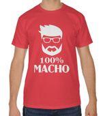 Koszulka męska dzień chłopaka 100 % macho