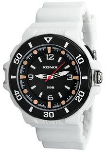 Xonix Zegarek analogowy, podświetlenie, WR 100M, antyalergiczny, WR 100M