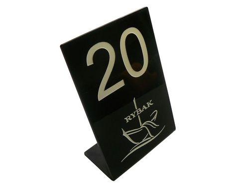 numerek numerki na stolik do restauracji 10x15cm na Arena.pl