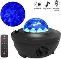 Projektor gwiazd lampka nocna obrotowa LED