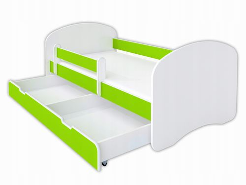 Kompletne łóżko dziecięce 160/80 limonka PROMOCJA na Arena.pl