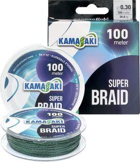 PLECIONKA KAMASAKI SUPER BRAID 0,14MM 100M