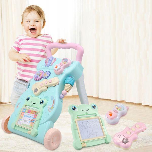Chodzik Interaktywny Jeździk Pchacz Edukacyjny 4w1 Dla Dzieci Y106 zdjęcie 8